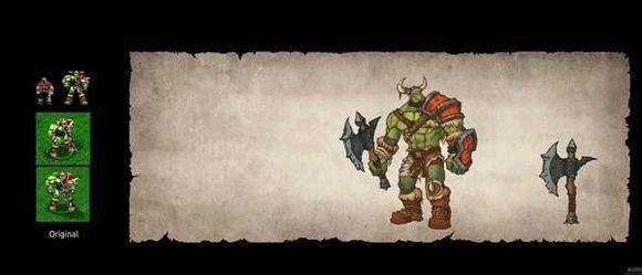 《魔兽争霸3:重制版》更多画面细节 模型各种变帅改回左手持武