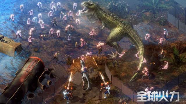 《全球火力》:末日生存类游戏火了,这款游戏中你还能骑恐龙!