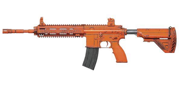 刺激战场永久M416皮肤赤橙获取方式介绍